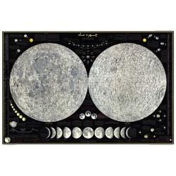 پوستر ماه (نشنال جئوگرافی، زبان فارسی)