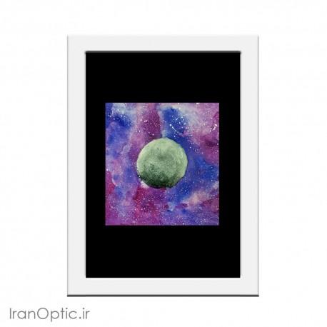 تابلو نقاشی قمر سرگردان