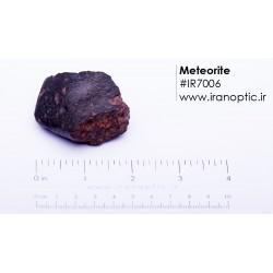 شهاب سنگ کد IR7006 با وزن 84 گرم